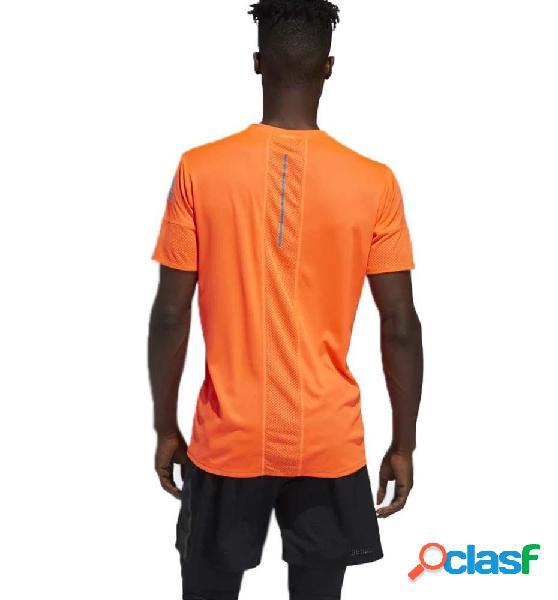 Camiseta M/c Running Adidas 25/7 Tee Runr M Naranja