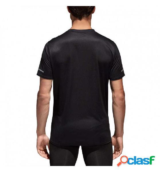 Camiseta M/c Running Adidas Run Tee M 2xl Negro