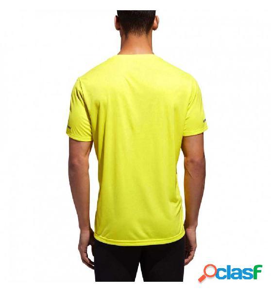 Camiseta M/c Running Adidas Run Tee M Amarillo S