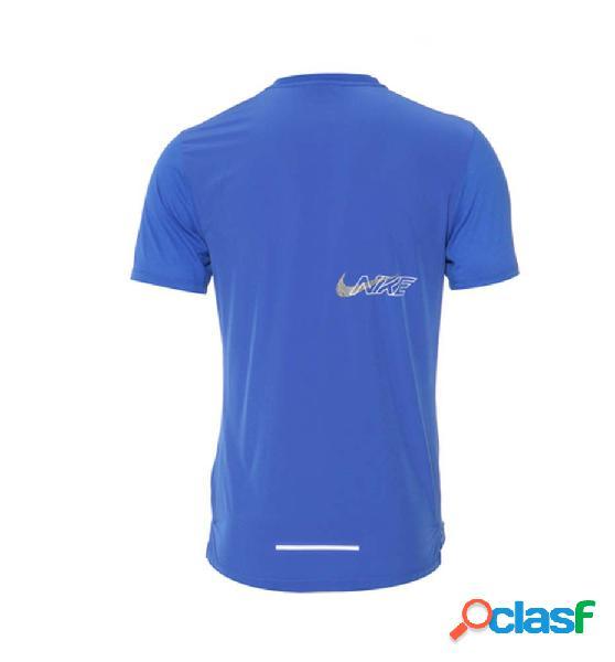 Camiseta M/c Running Nike M Nk Df Brthe Rise 365 H Ss Gx