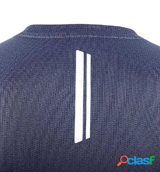 Camiseta M/c Trail Salomon Agile Ss Tee Azul Marino S