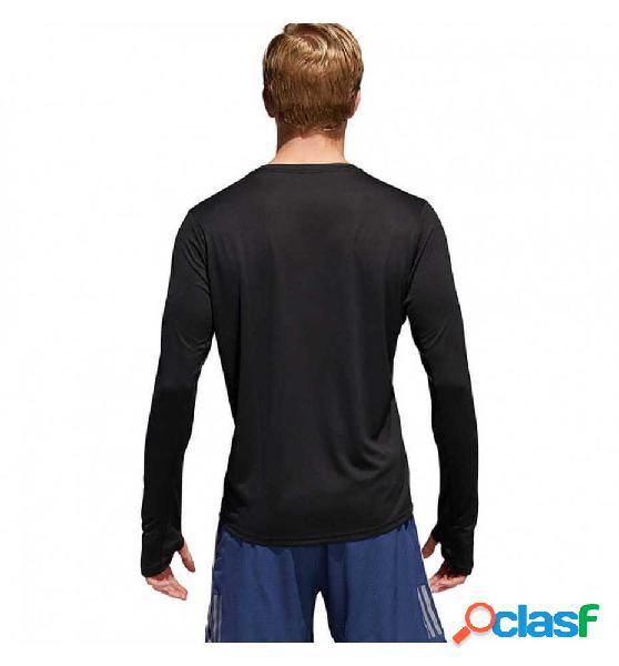 Camiseta M/l Running Adidas Rs Ls Tee M Negro Xl