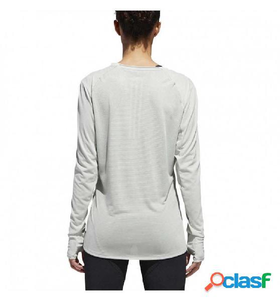 Camiseta M/l Running Adidas Supernova Ls T Gris M