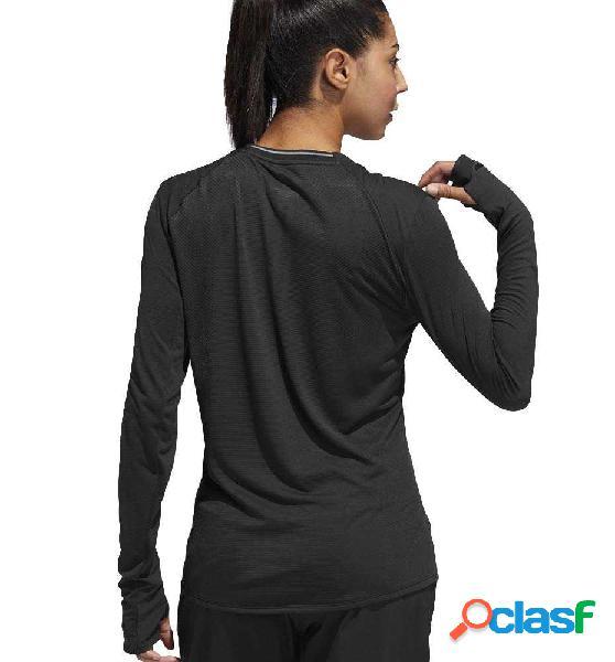 Camiseta M/l Running Adidas Supernova Ls T M Negro