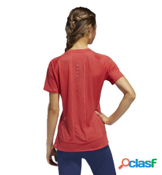 Camiseta Running Adidas 25/7 Tee Runr Rojo S