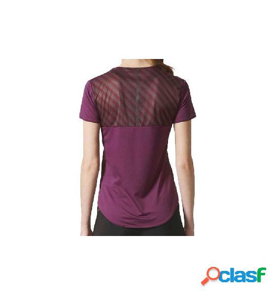 Camiseta Running Adidas Az Ss Tee W Lila S