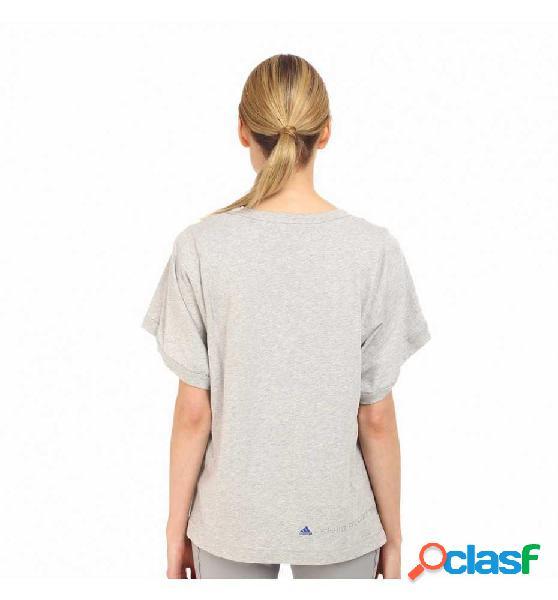 Camiseta Running Adidas Ess Blossom Tee Blanco S