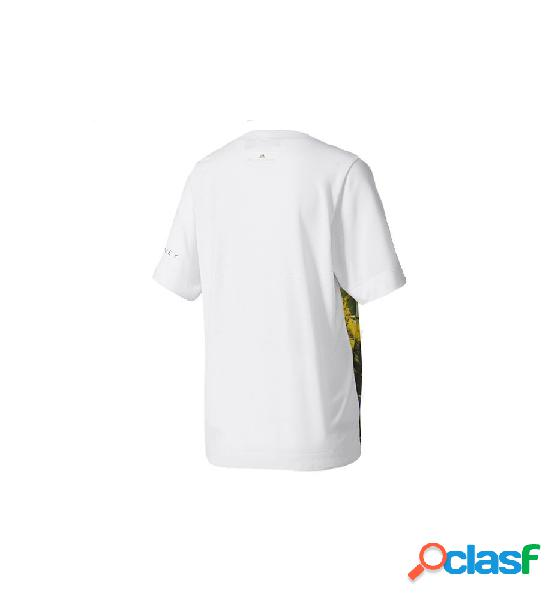 Camiseta Running Adidas Ess Nature Tee Blanco S