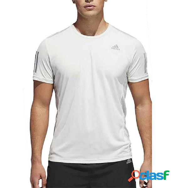 Camiseta Running Adidas Own The Run Tee Blanco L
