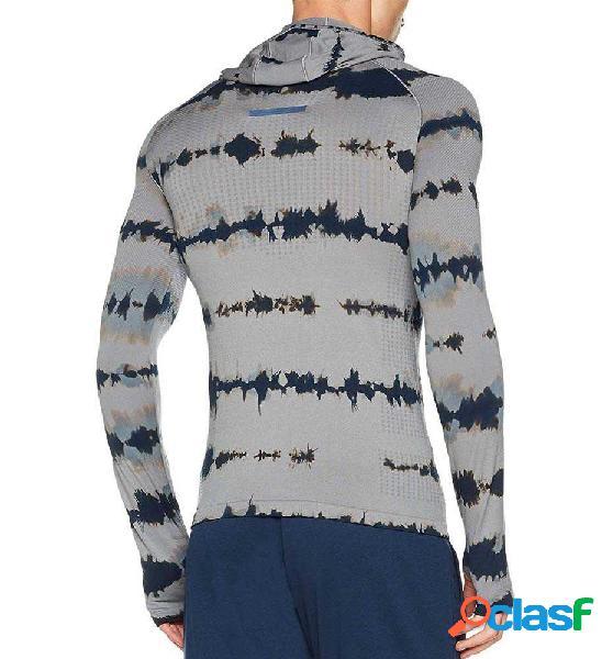 Camiseta Running Adidas Pknit Ls Ef M Gris M