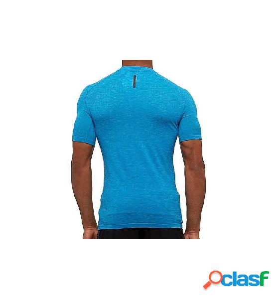 Camiseta Running Adidas Pknit Tee M Azul M
