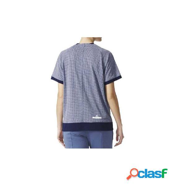 Camiseta Running Adidas The Tee Inknav Azul Xs