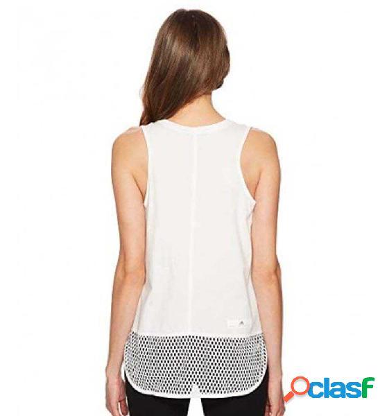 Camiseta Tirantes Fitness Adidas Ess Logo Tank Blanco M