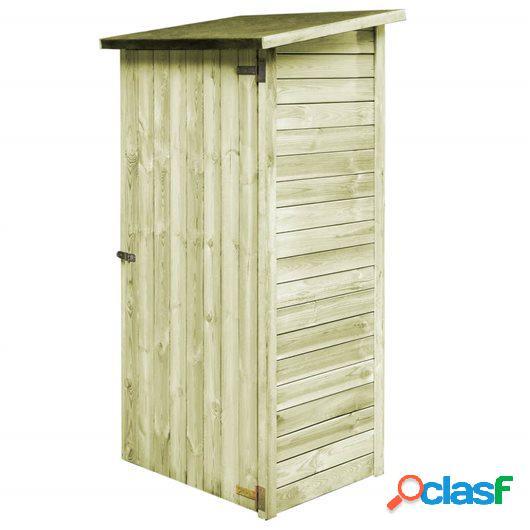 Caseta de herramientas de jardín madera de pino FSC