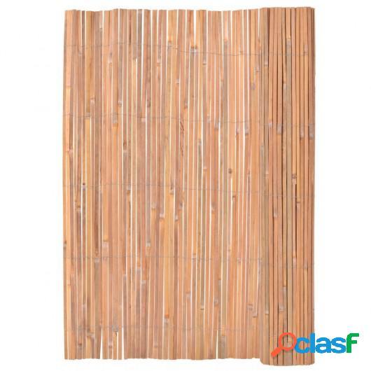 Cerca De Bambú Valla De Bambú 200 x 400 cm