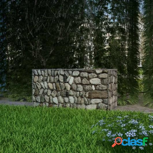 Cesta de acero para muro de gaviones 100x50x50 cm acero