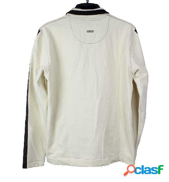Chaqueta Casual Sport Luxury 4.116 Blanco Xl