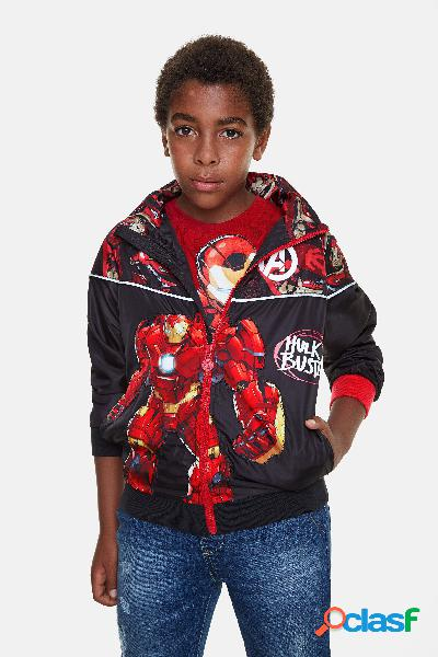 Chaqueta Iron Man capucha - BLACK - 5/6