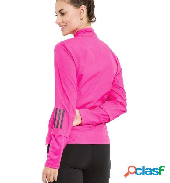 Chaqueta Running Adidas Rs Wind Jkt W Rosa S
