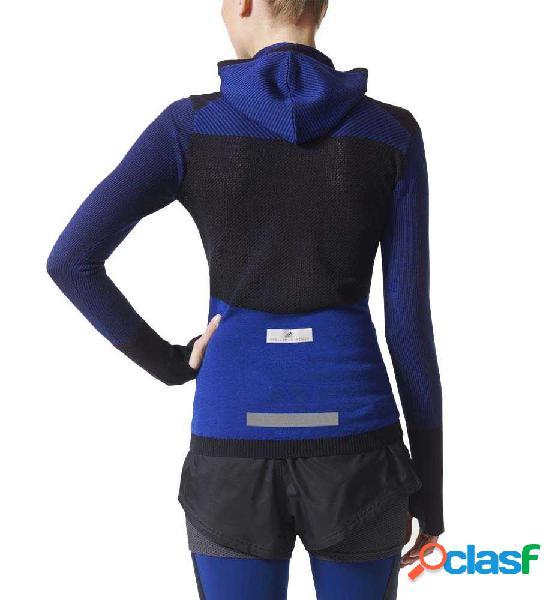 Chaqueta Running Adidas Run Ultra Ls Azul Marino S