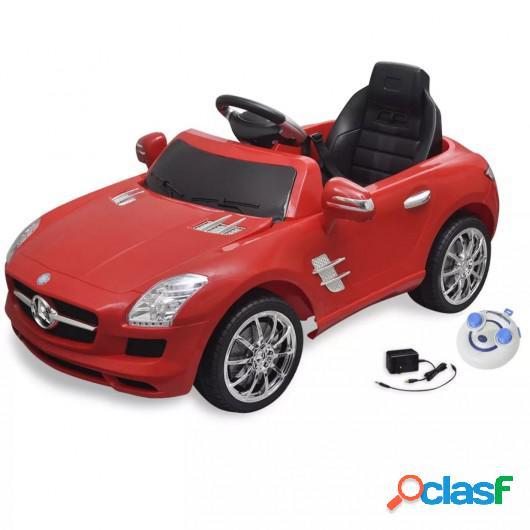 Coche correpasillos eléctrico SLS AMG con mando a
