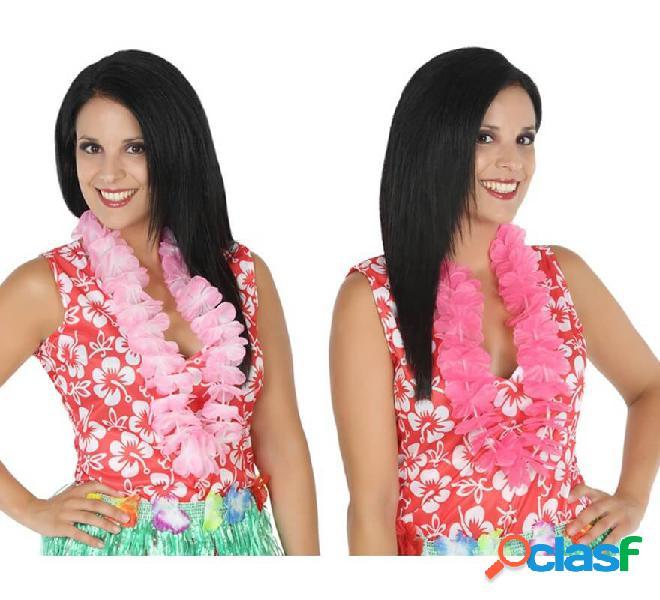 Collar de flores Hawaiano en 2 colores surtidos