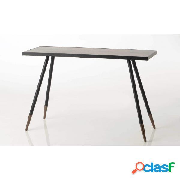 Consola Negro Plata 36 X 101 75