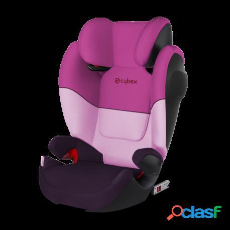 Cybex - Solution M-Fix Sl Cybex Silla De Auto Gr 2 3 Purple