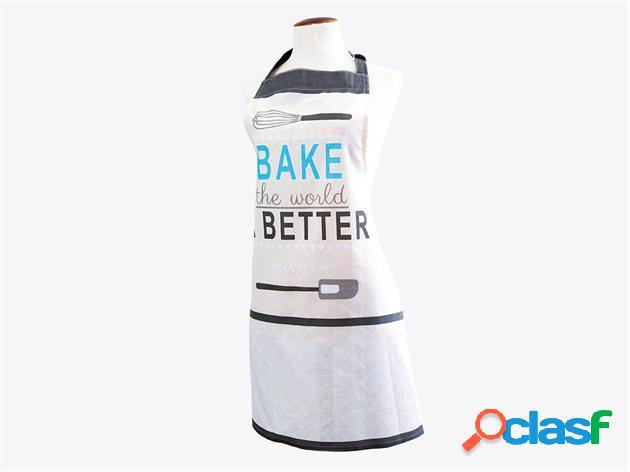 Delantal de Algodón Bake