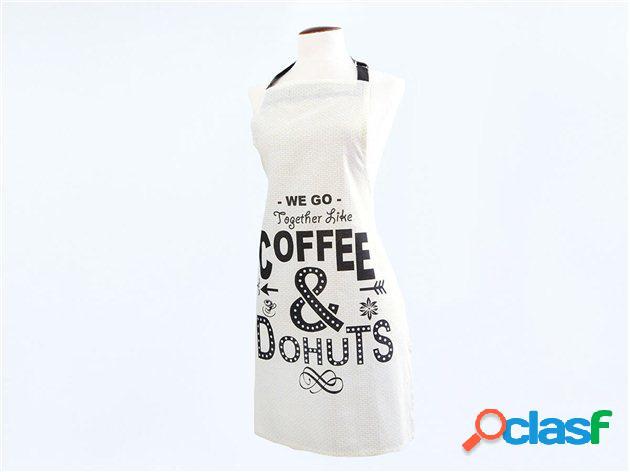 Delantal de Algodón Coffee
