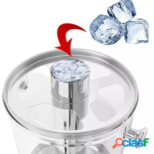 Dispensador de zumo acero inoxidable 8 L