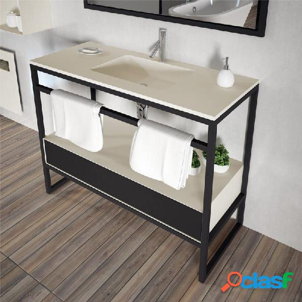 Doccia - Mueble con lavabo metálico GUADA de Doccia