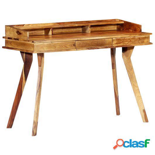 Escritorio de madera maciza de sheesham 115x50x85 cm