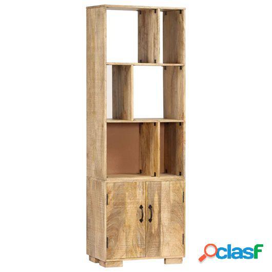 Estantería 60x35x180 cm madera maciza de mango