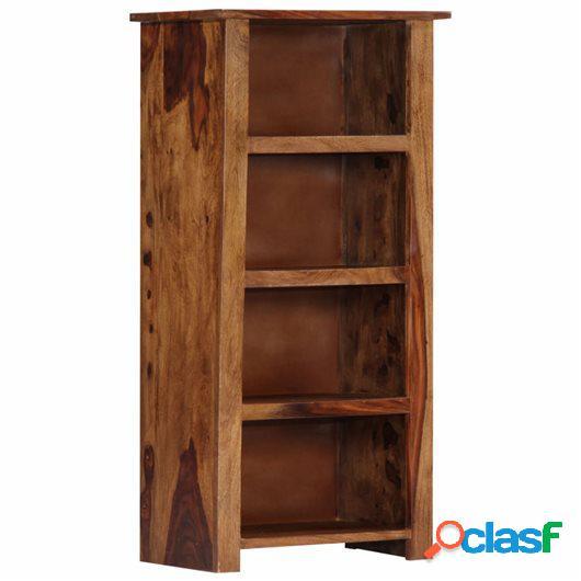 Estantería de madera maciza de sheesham 50x30x100 cm