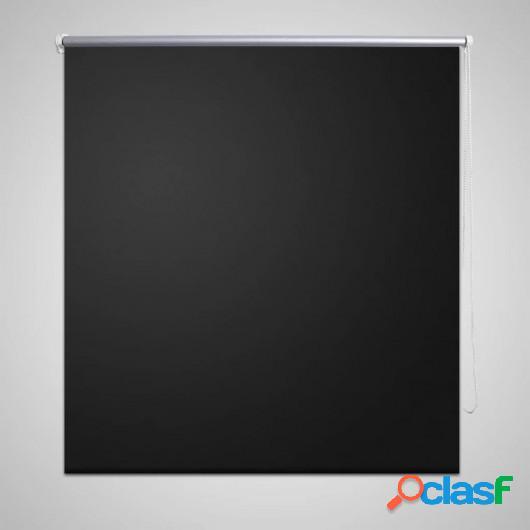 Estor persiana enrollable 120 x 230 cm negro