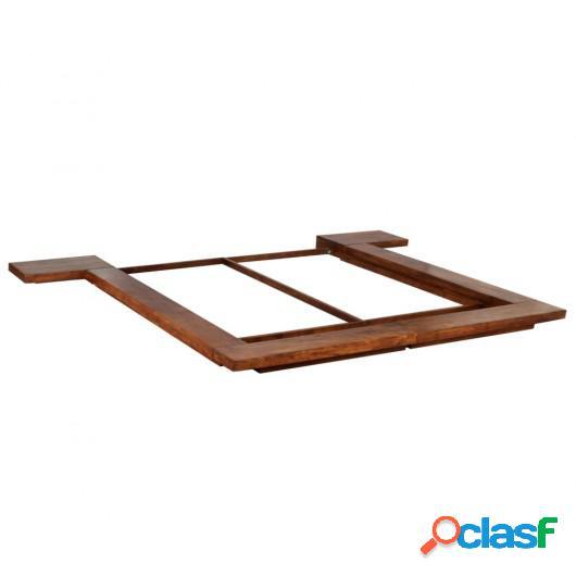 Estructura para futón estilo japonés madera maciza 180x200