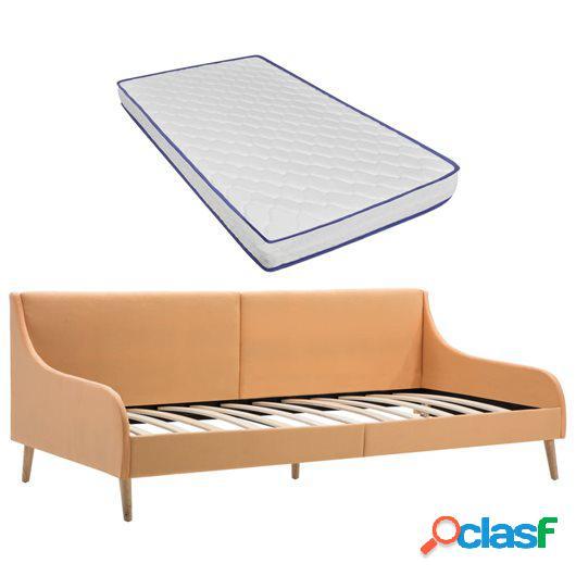 Estructura sofá cama colchón espuma viscoelástica tela