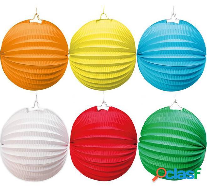 Farolillo de 20 cm para decorar en varios colores