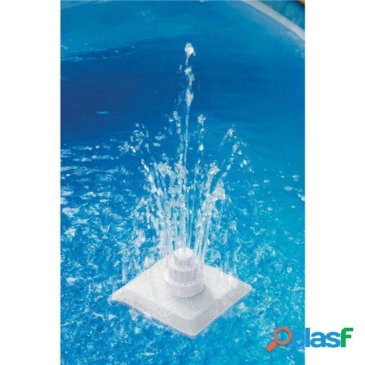 Fuente griega de piscina 13 piezas blanca