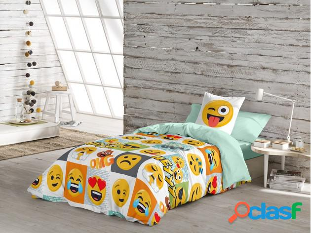 Funda Nórdica Emoji Hey
