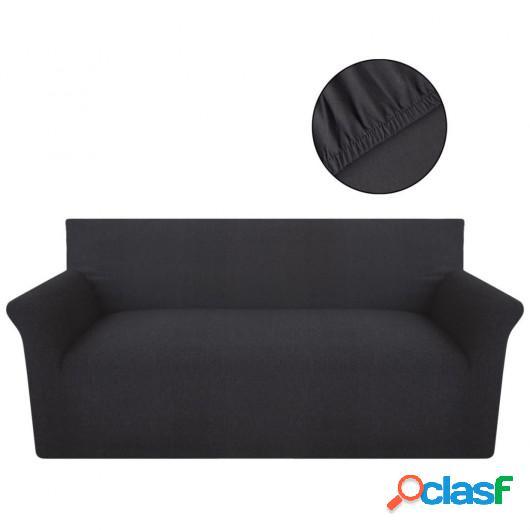 Funda elástica de algodón jersey para sofá color