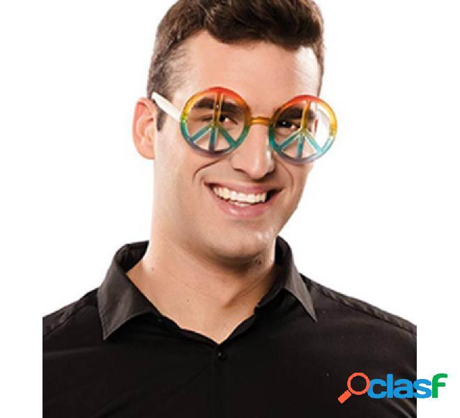 Gafas Hippie de la Paz Multicolor