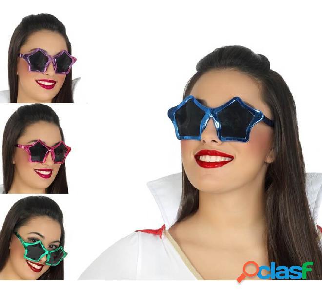Gafas con Forma de Estrella en 4 colores surtidos