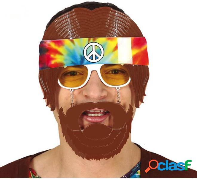 Gafas de Hippie con Barba