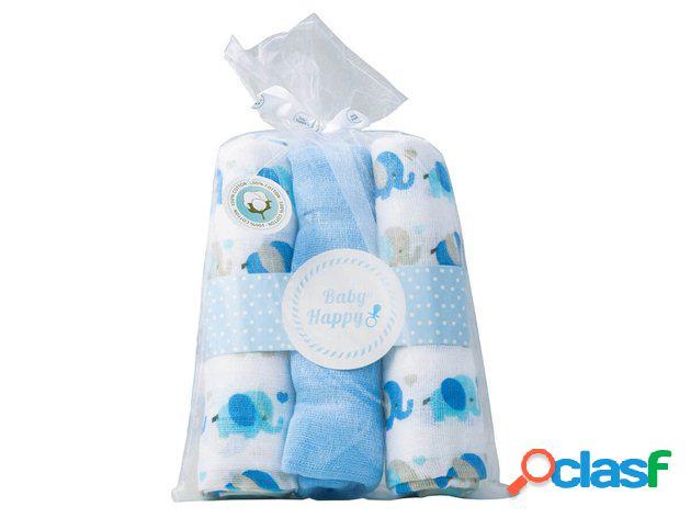 Gasas Bebé Elefantito Pack 3 uds
