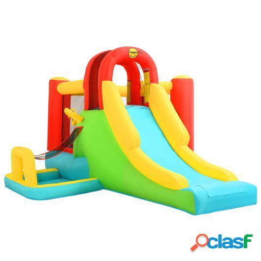 Happy Hop Castillo hinchable con tobogán 400x295x200 cm PVC