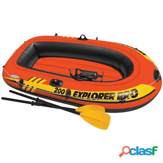 Intex Barca hinchable Explorer Pro 200 58357NP con remos y