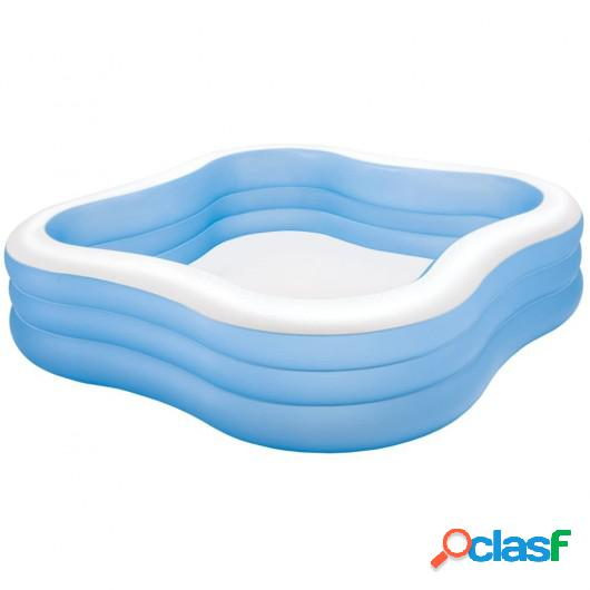 Intex Piscina hinchable Beach Wave 229x229x56 cm 57495NP