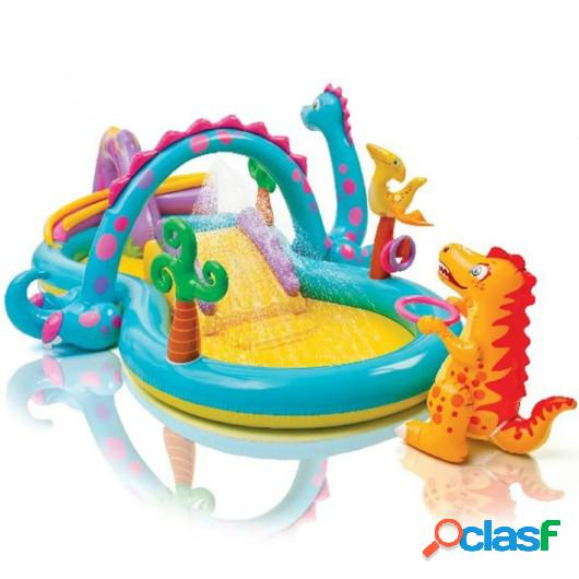 Intex Piscina infantil hinchable Dinoland 57135NP